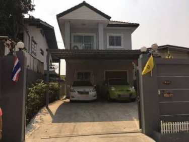 ขายบ้าน 2 ชั้น ต้นซอยบุญศิริ เดิน 5 นาทีถึง BTS ถนนสุขุมวิท เมืองสมุทรปราการ พร้อมอยู่