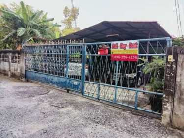ขายด่วน ราคาถูก บ้านเดี่ยว ติดหมู่บ้านร่มโพธิ์2 ใกล้สี่แยกเทพารักษ์ สมุทรปราการ