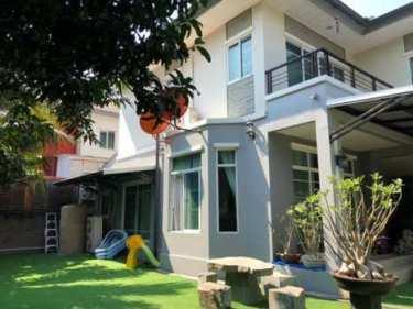 ขายบ้านเดี่ยว เดอะ แพลนท์ แจ้งวัฒนะ (เมืองทอง) ทำเลหน้าสวน หลังหัวมุม 2 ชั้น หน้าบ้านวิวสวน ใกล้คลับเฮ้าส์